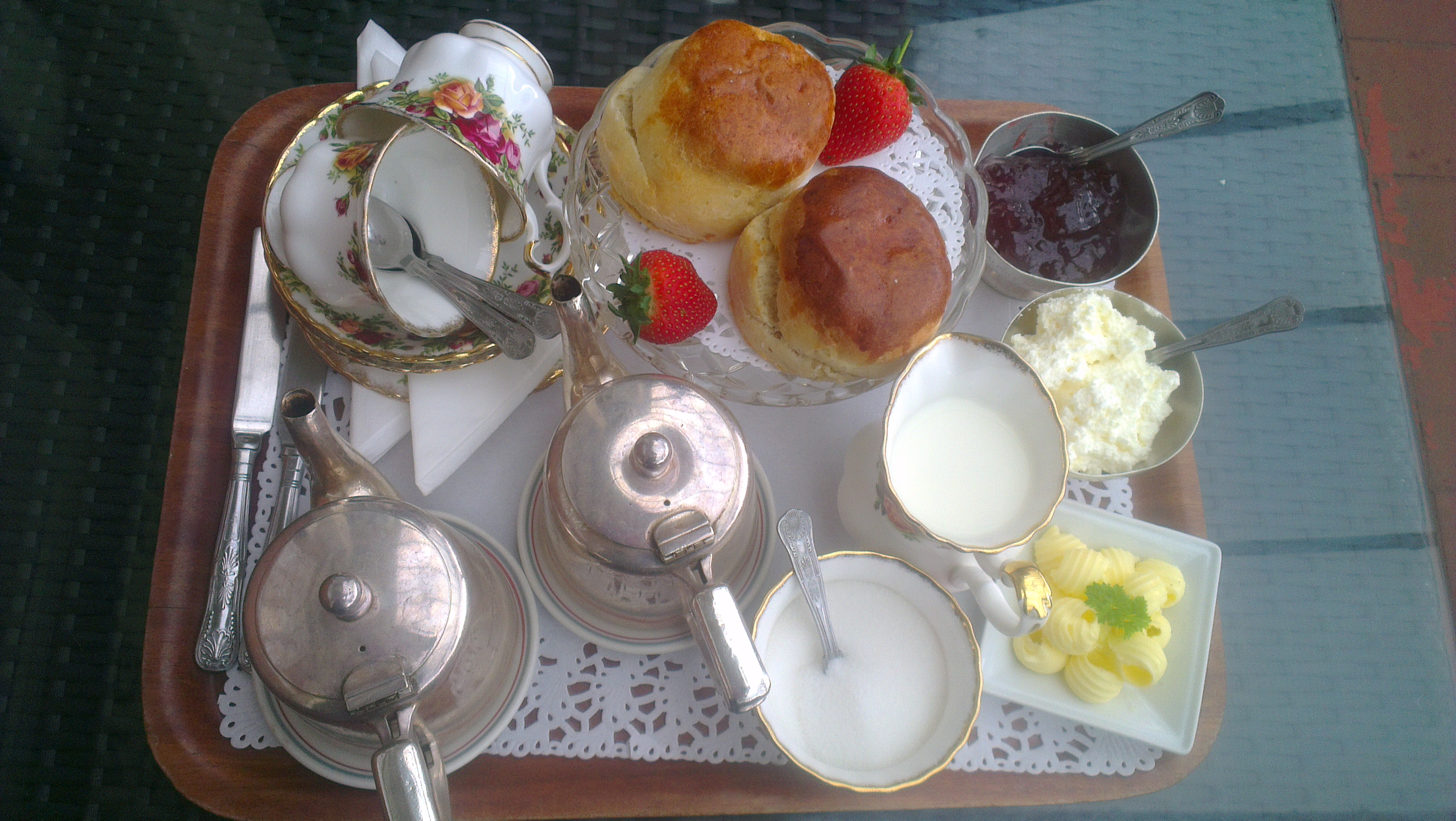 afternoon tea at the walpole bay hotel margate